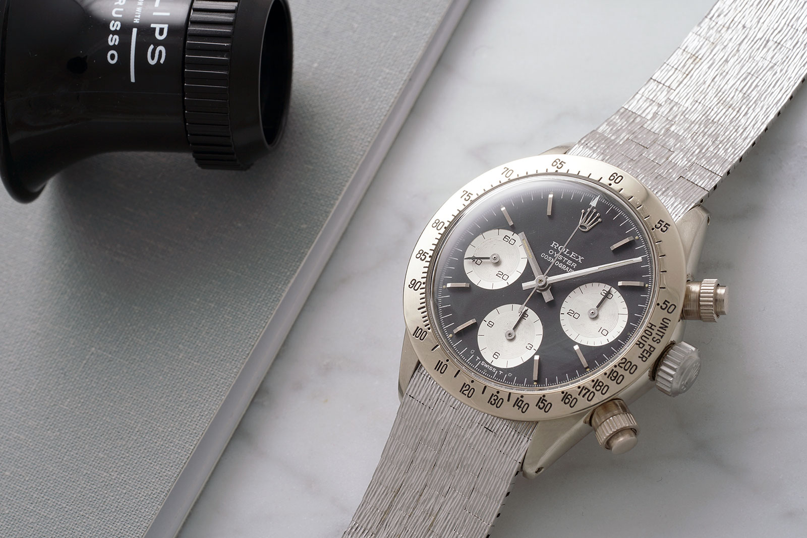 Rolex Daytona 6265 white gold 1