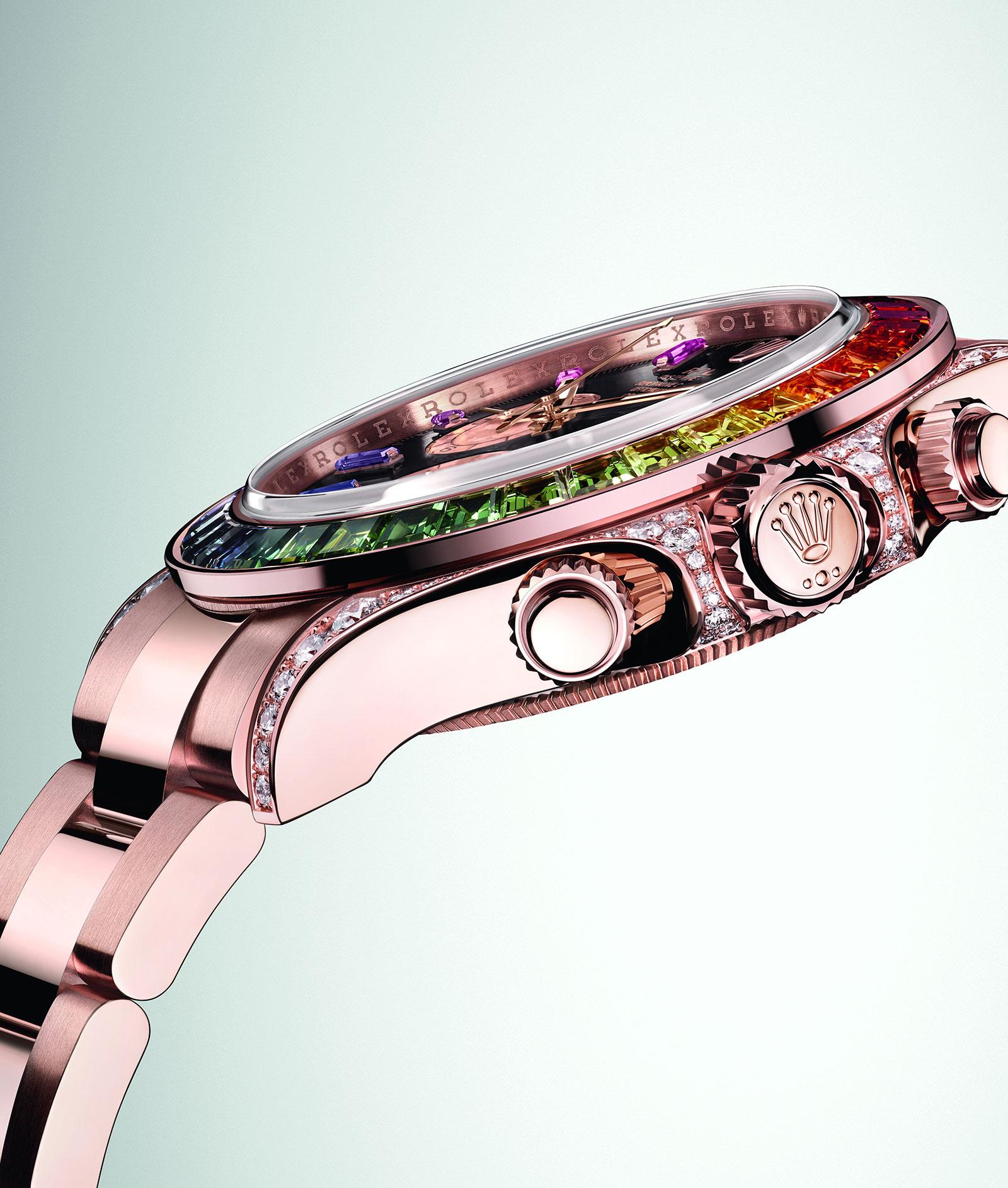 Rolex Daytona Rainbow Everose 116595 RBOW 2