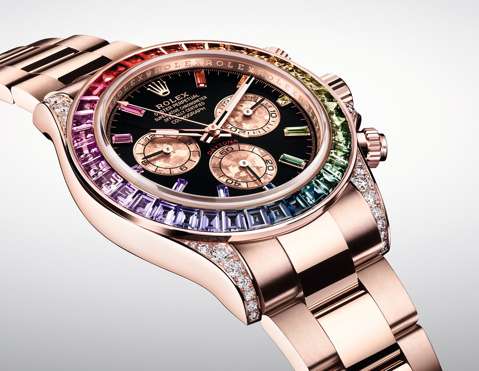 Rolex Daytona Rainbow Everose 116595 RBOW 3