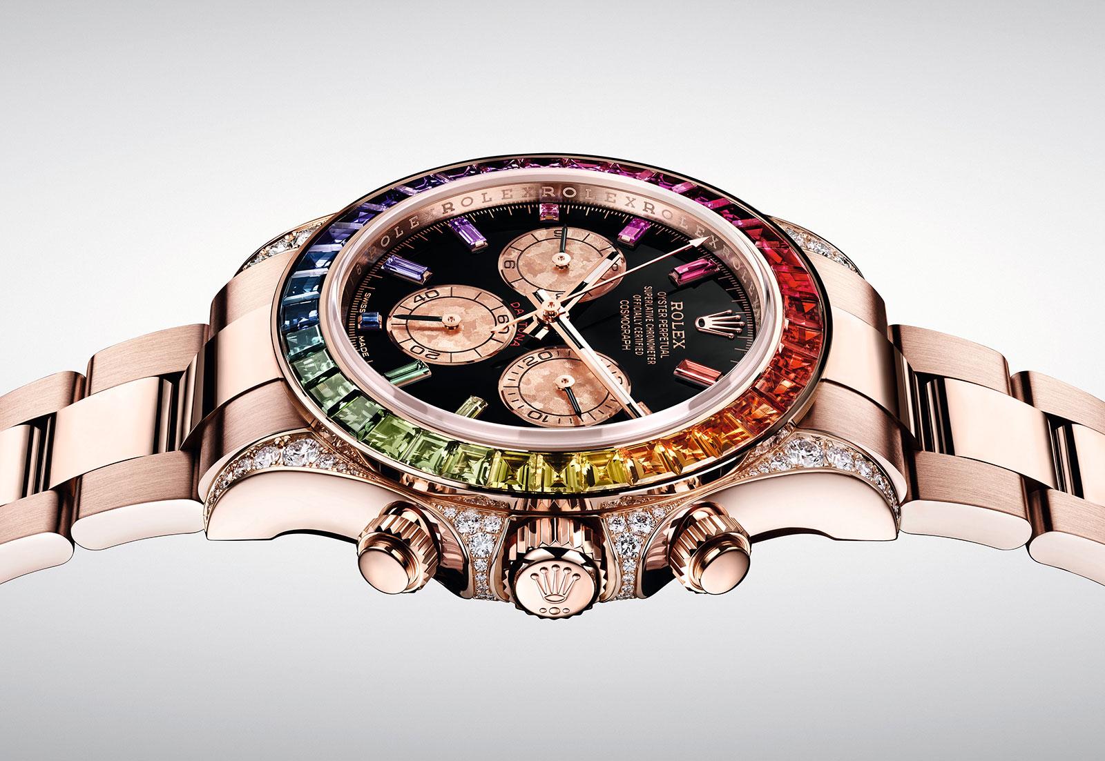Rolex Daytona Rainbow Everose 116595 RBOW 4