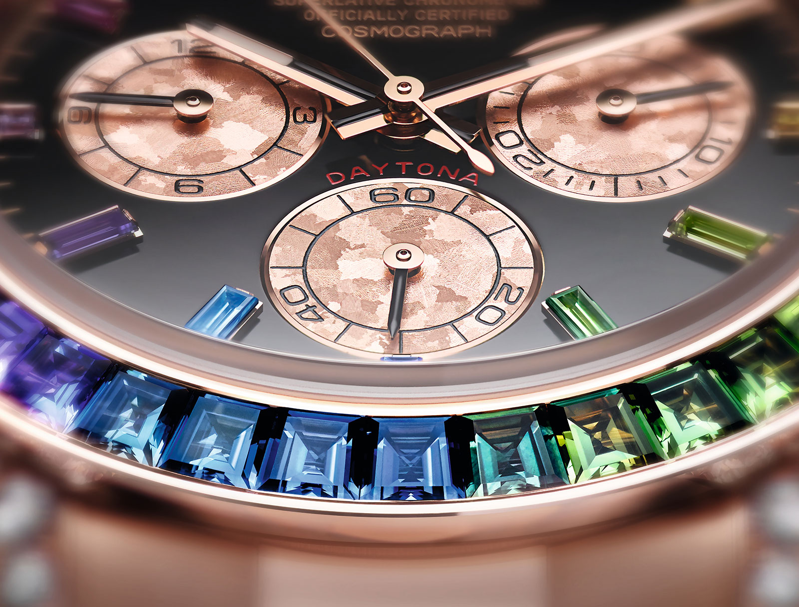 Rolex Daytona Rainbow Everose 116595 RBOW 5