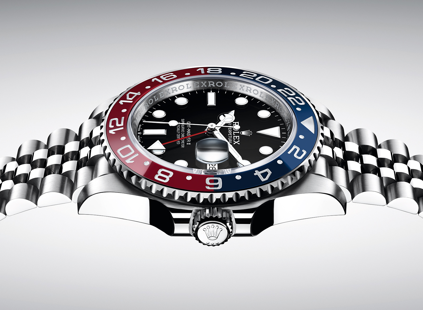 "Rolex GMT Master II ""Pepsi"" in Steel 3"