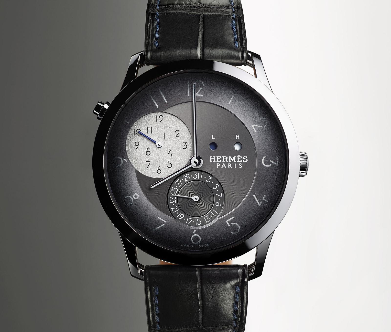 Slim d'Hermès GMT 4