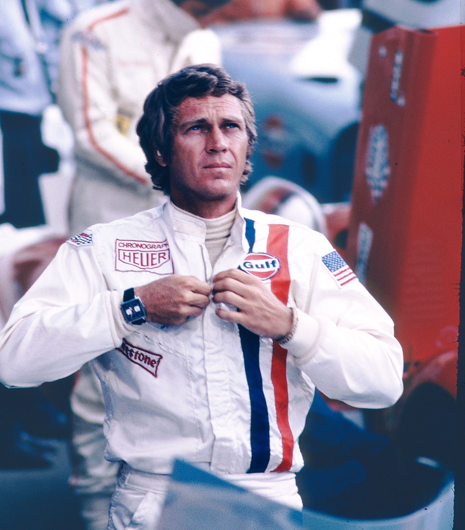 Steve McQueen Le Mans Heuer Monaco 2