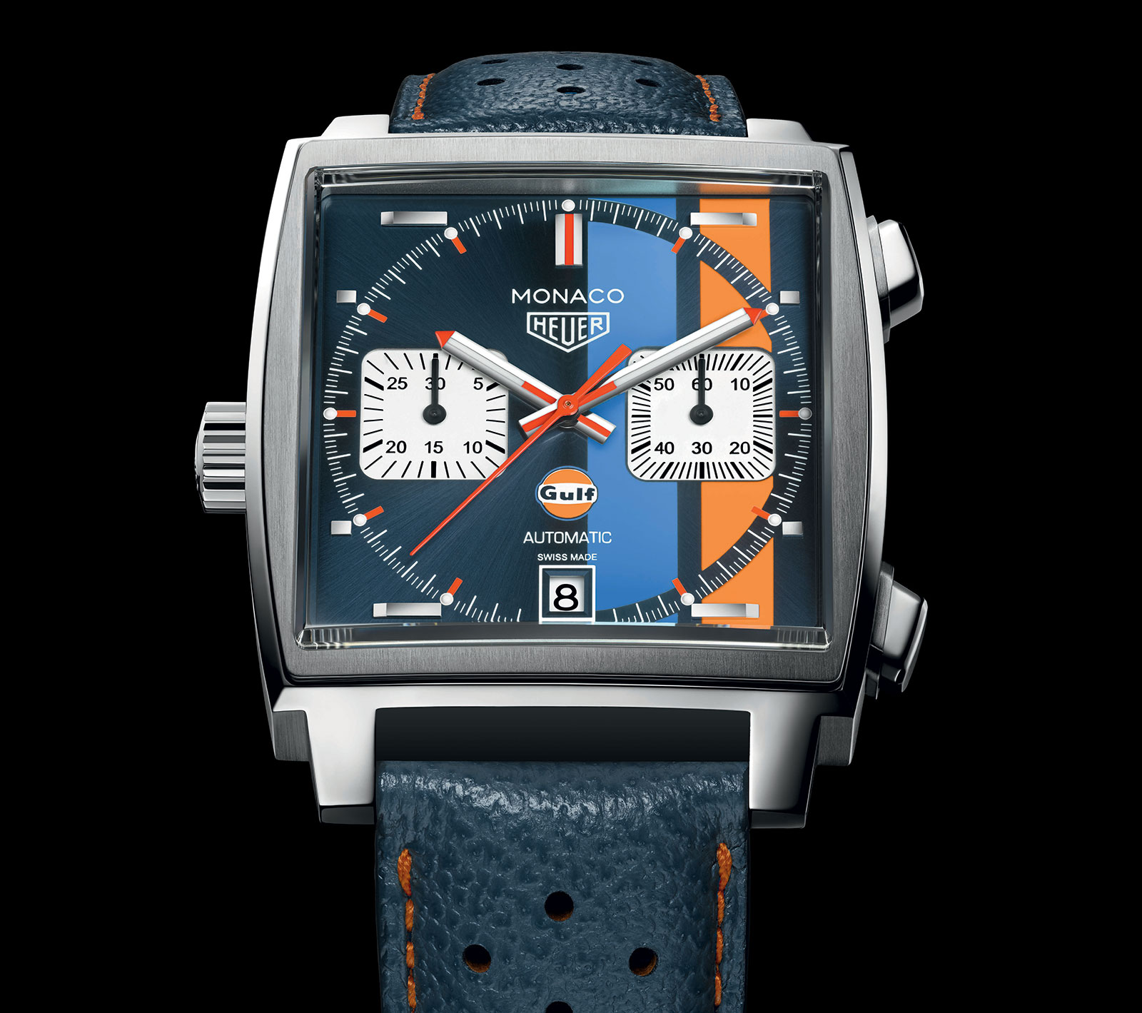 fd782c50c Introducing the TAG Heuer Monaco 'Gulf Oil' Special Edition | SJX ...