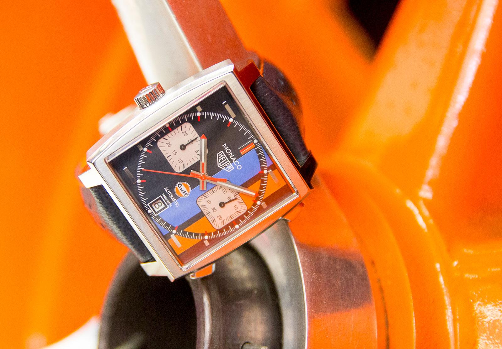 TAG Heuer Monaco Gulf watch 4
