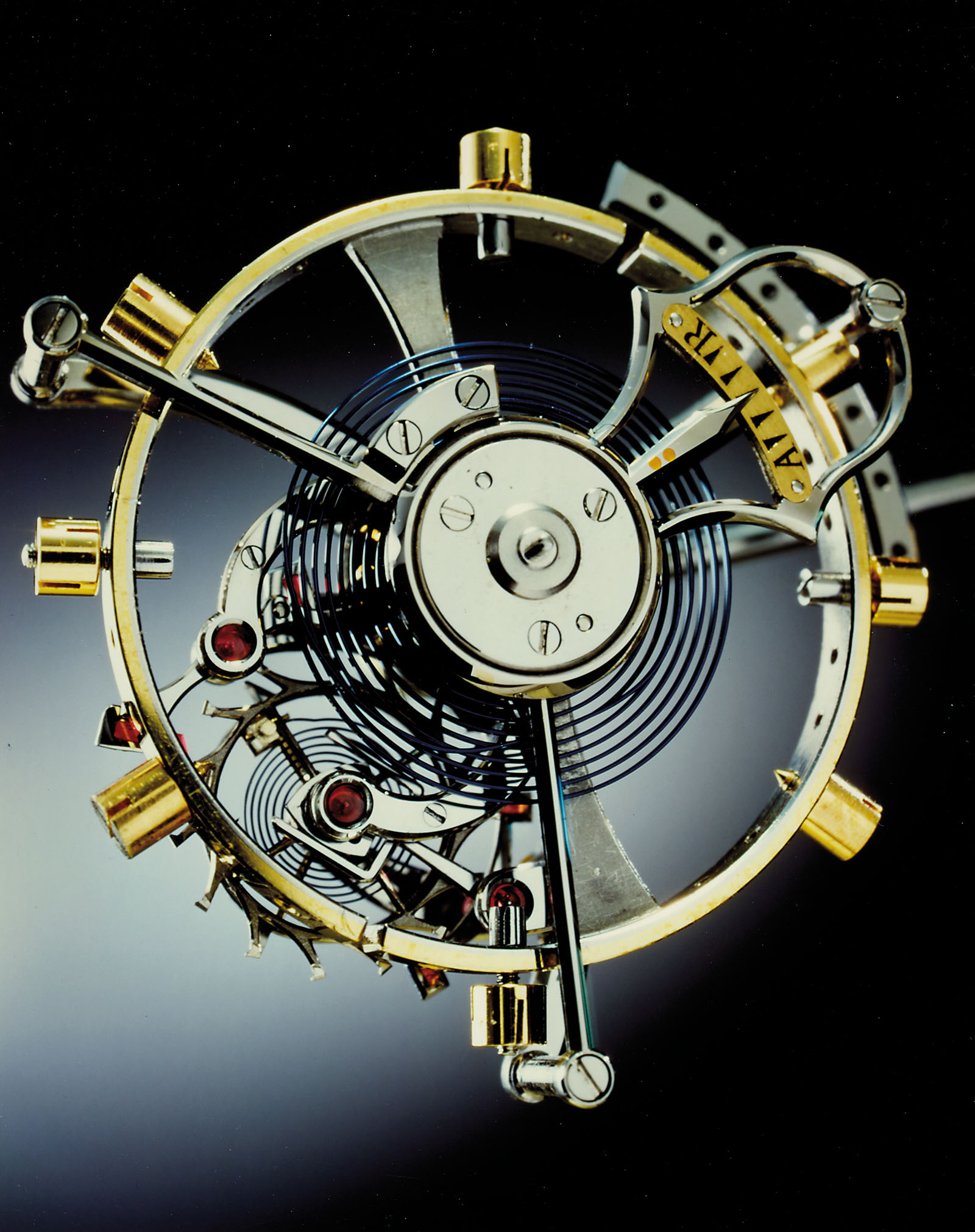 The integrated remontoir in Urban Jürgensen Pocket Watch No. 1 by Derek Pratt
