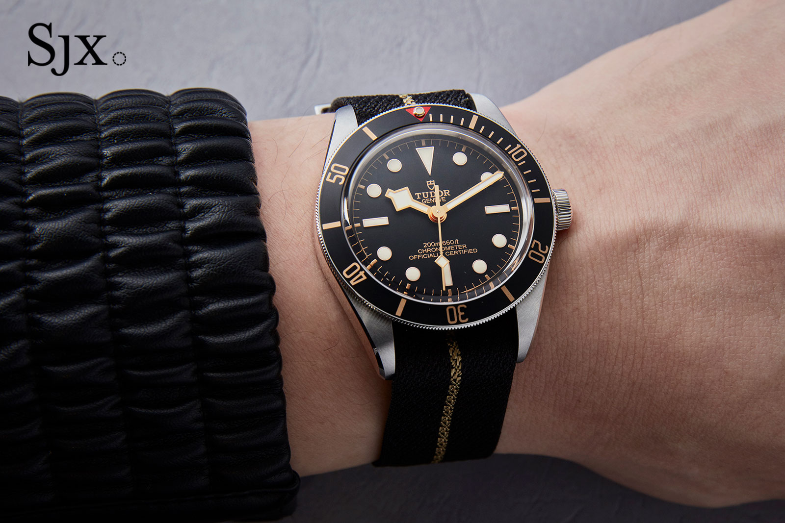 Up Close With The Tudor Black Bay Fifty Eight Smaller Slimmer And