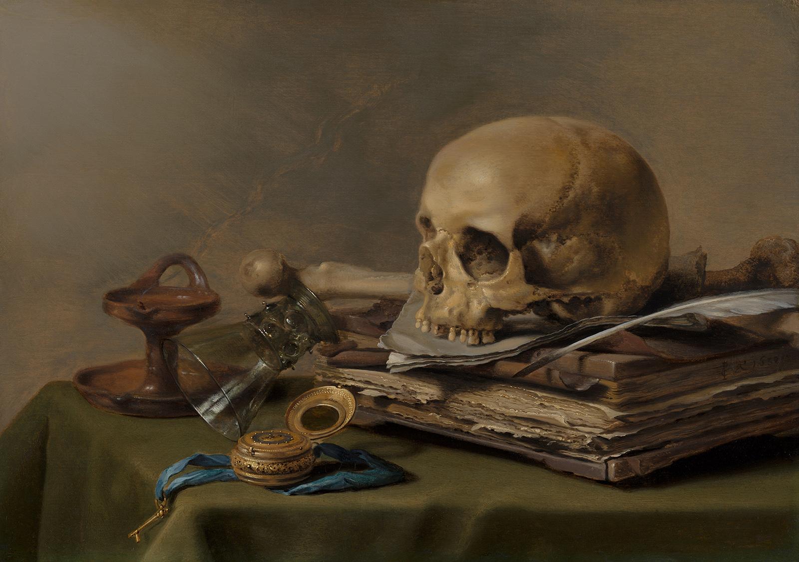 Vanitas Still Life by Pieter Claesz
