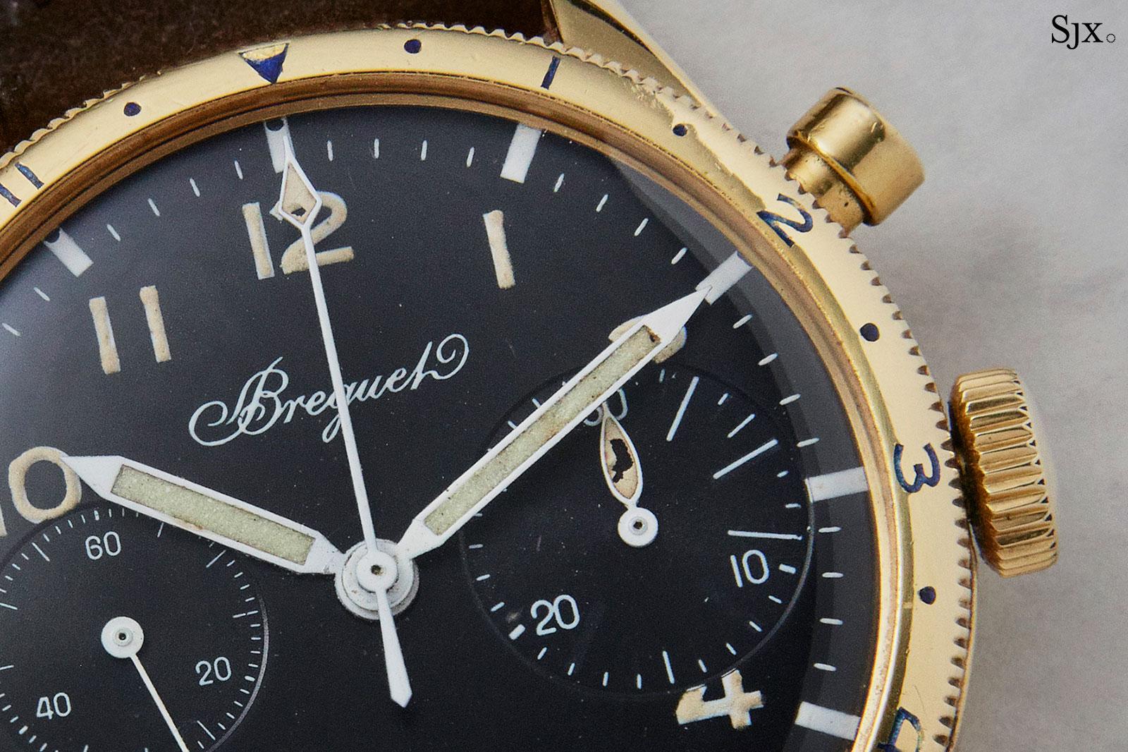 Breguet Type XX 18k gold vintage 2