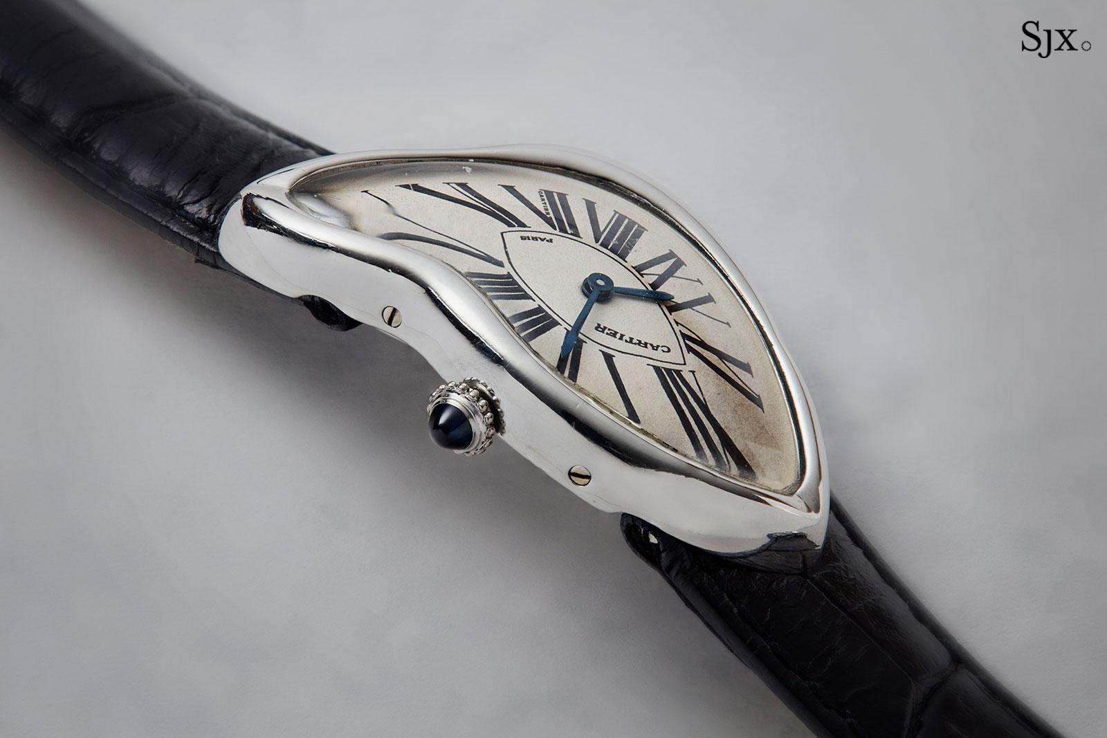 Cartier Crash platinum Paris 2