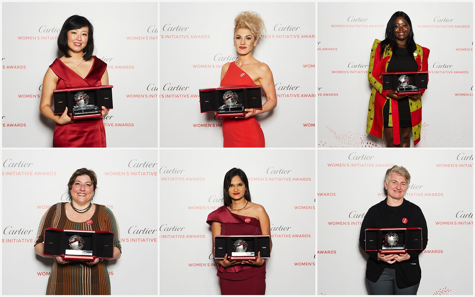 Cartier Women's Initiative Awards 2018 laureates