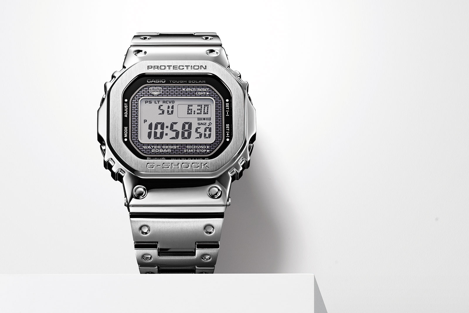 583dd12f68f Casio (Finally) Introduces the Original G-Shock in Metal – Including All- Gold