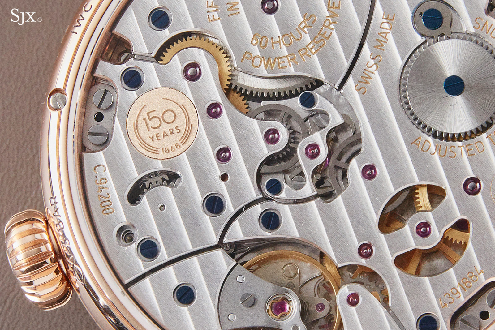 IWC Pallweber movement 94200
