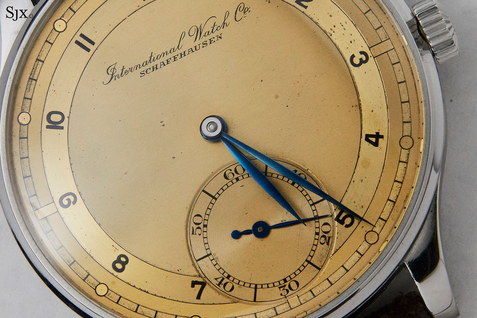 IWC Portugieser 325 champagne dial 1