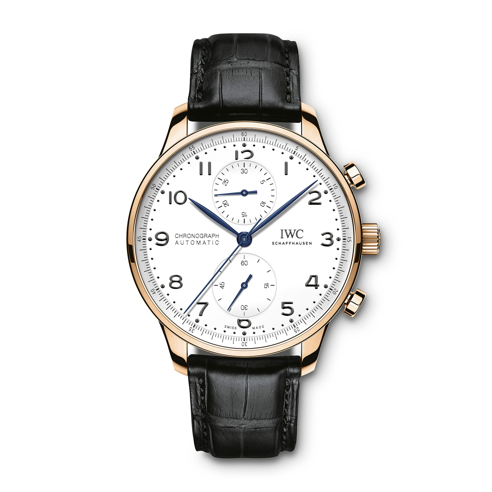 IWC Portugieser Chronograph 150 Years red gold 1
