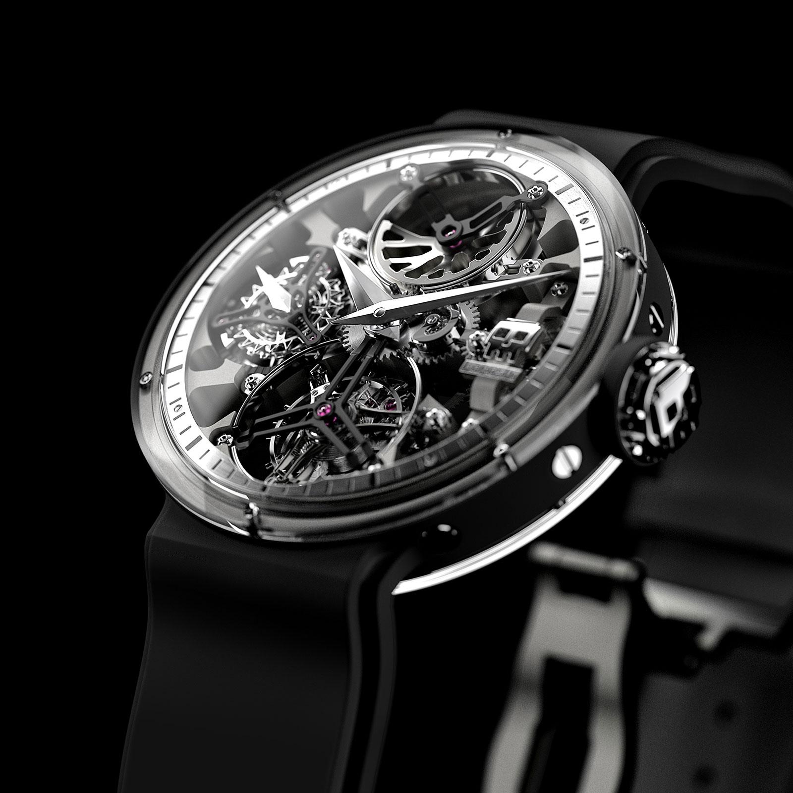 Karoshi Watches k-011-os-01 tourbillon 1