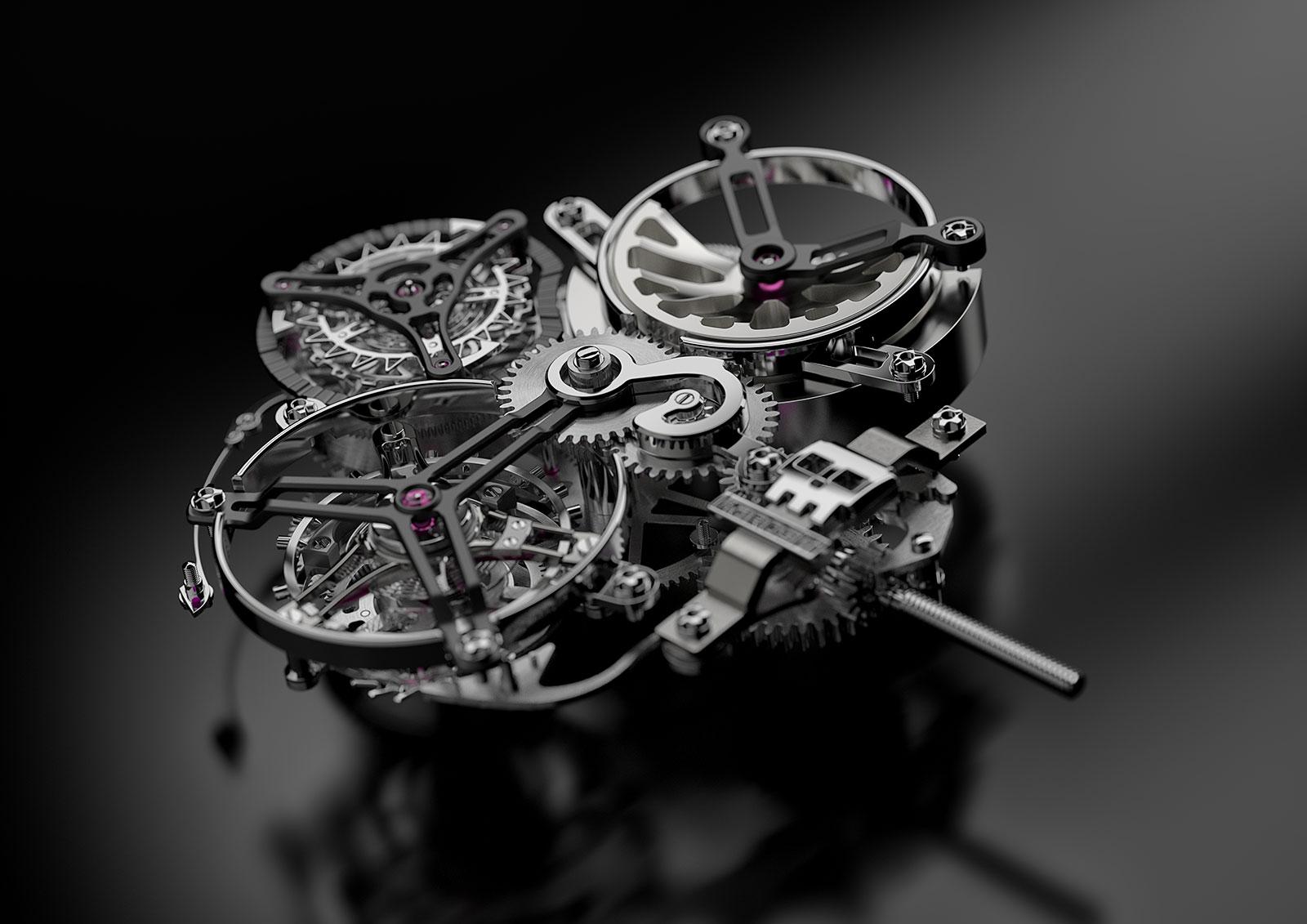Karoshi Watches k-011-os-01 tourbillon 2