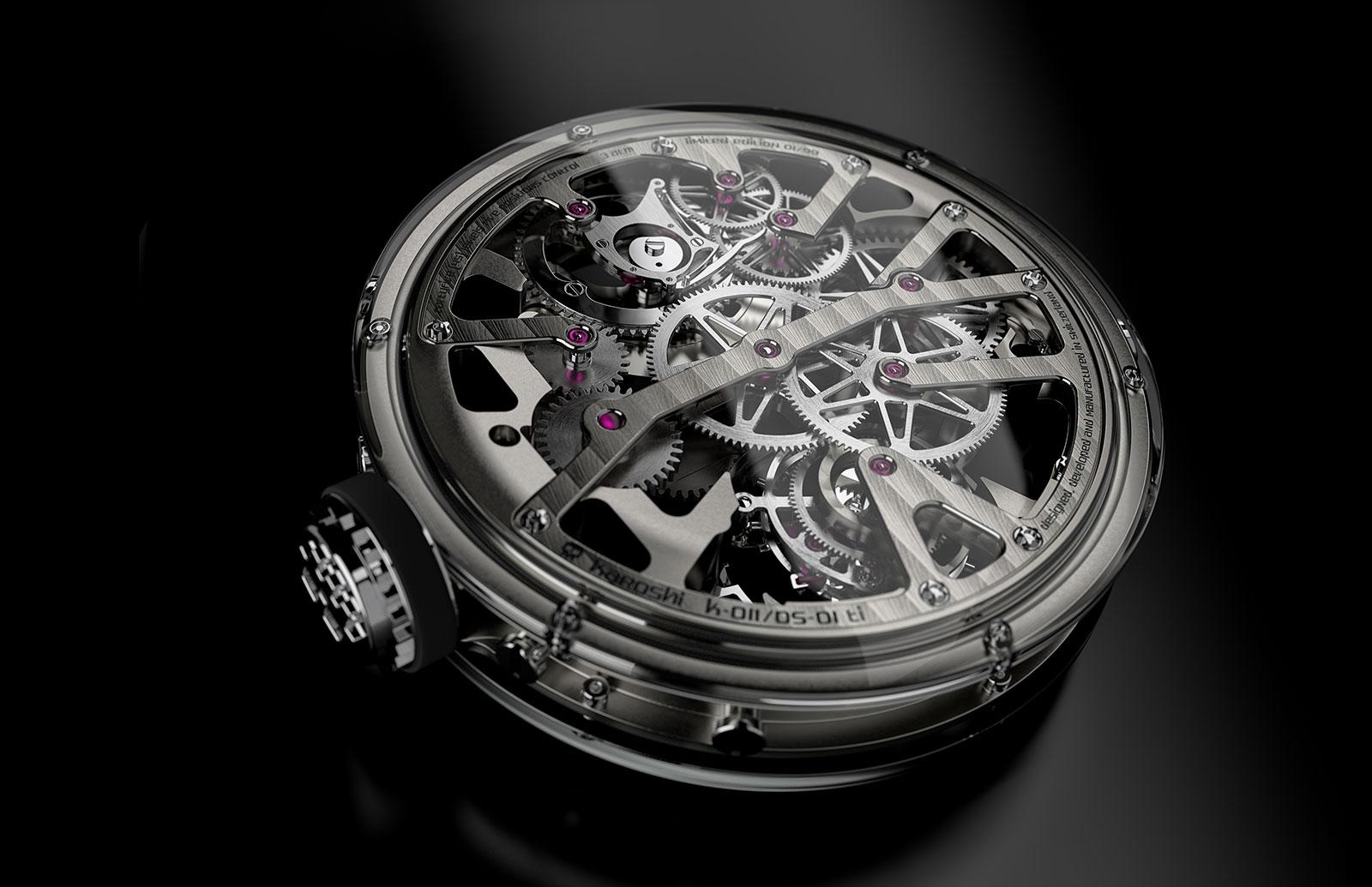 Karoshi Watches k-011-os-01 tourbillon 5
