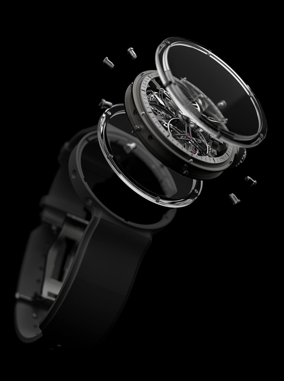 Karoshi Watches k-011-os-01 tourbillon 6