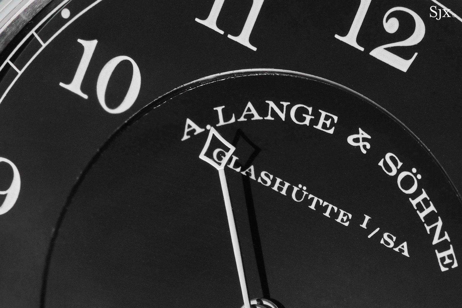 Lange 1815 Homage Walter Lange Steel Black Enamel 8
