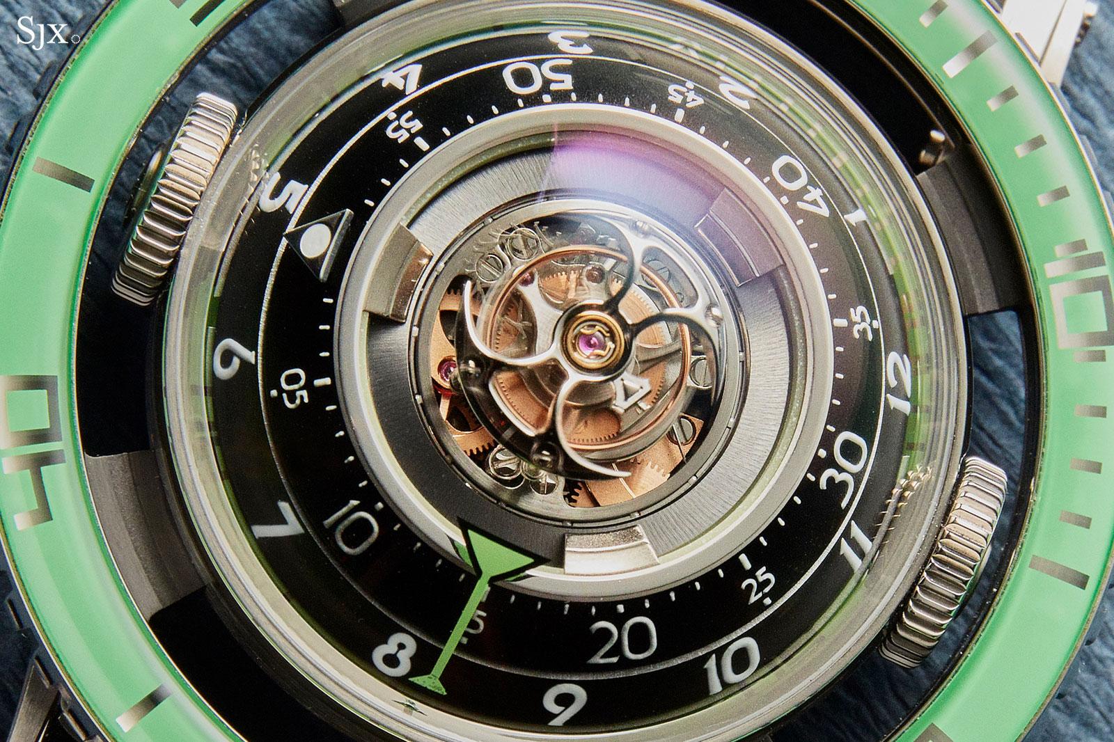 MBF HM7 Aquapod Titanium Green 1
