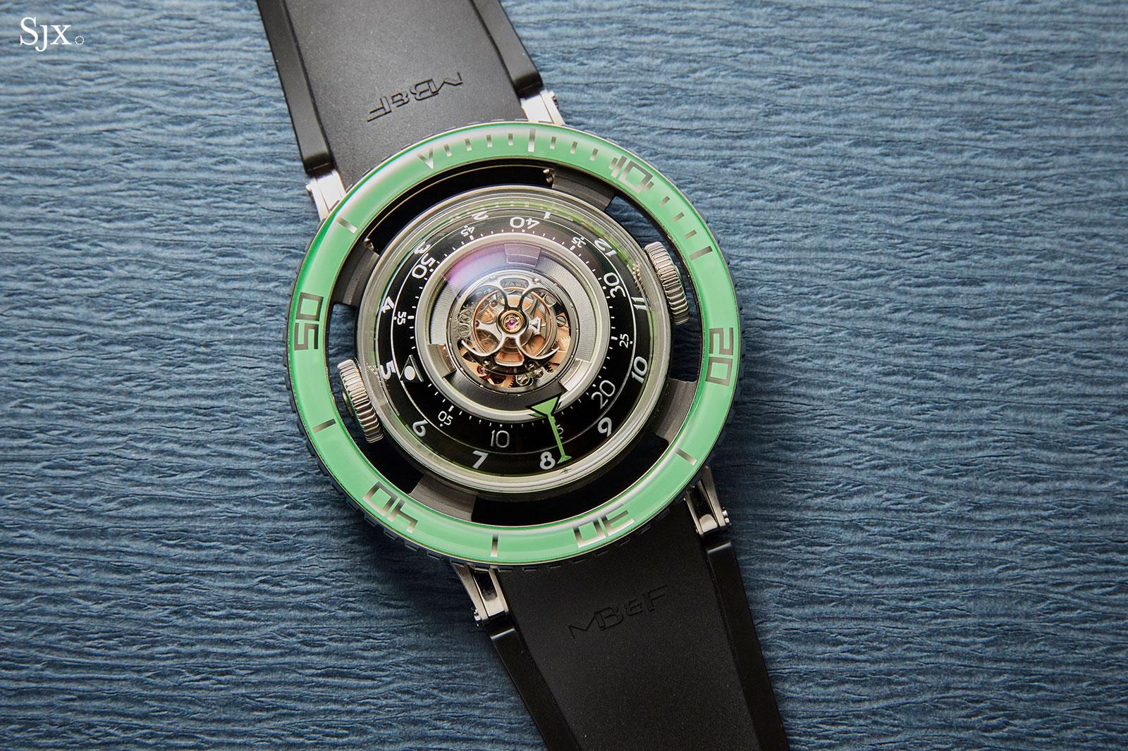 MBF HM7 Aquapod Titanium Green 2