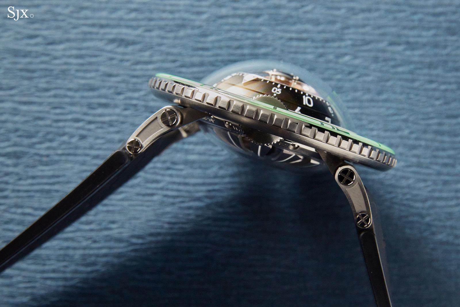 MBF HM7 Aquapod Titanium Green 6