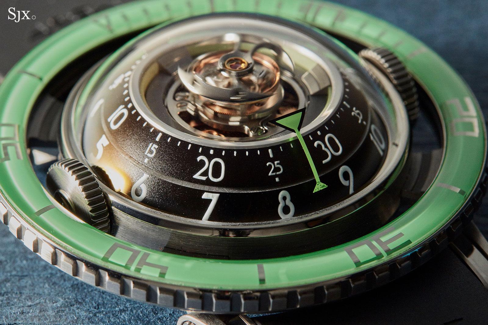 MBF HM7 Aquapod Titanium Green 7