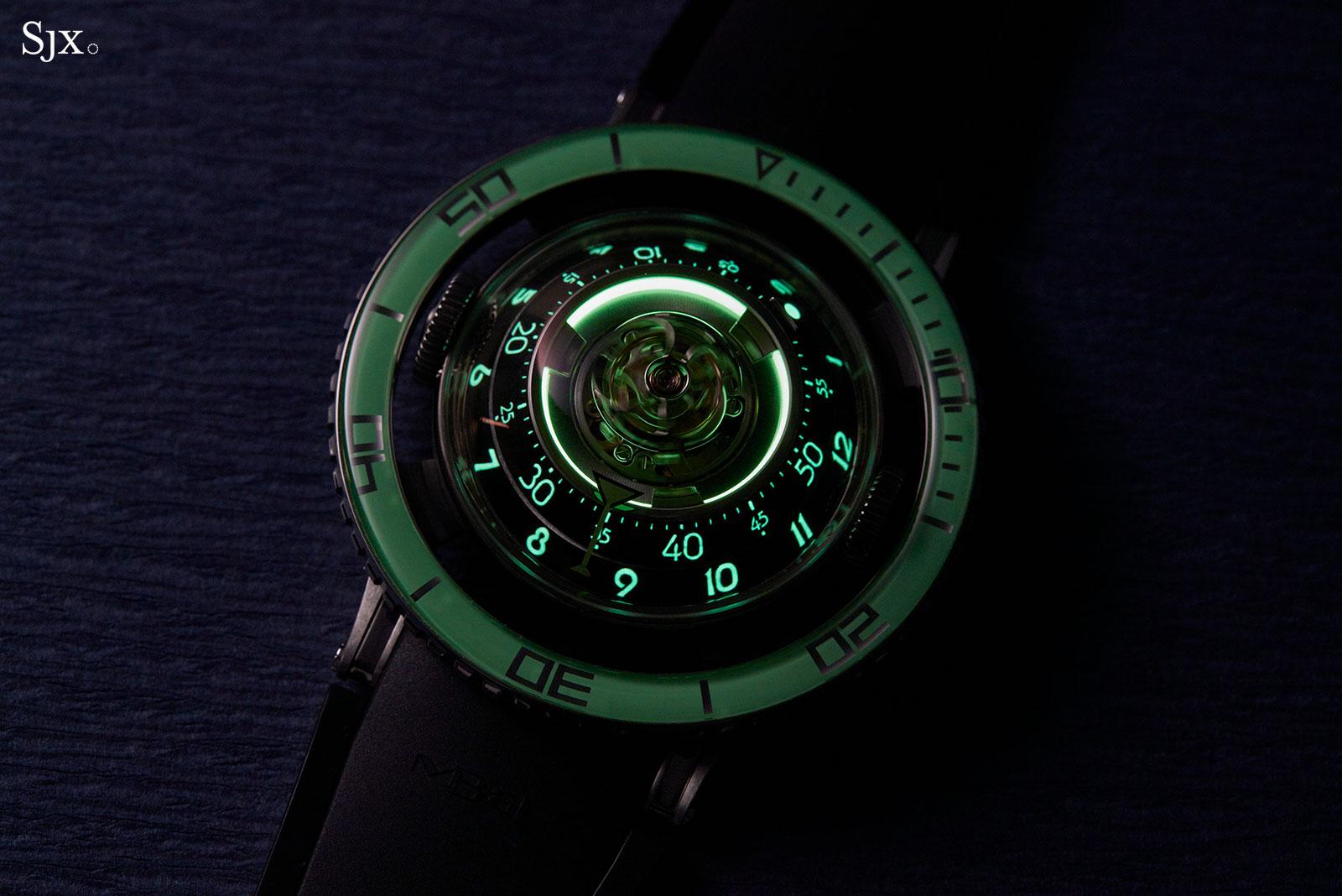 MBF HM7 Aquapod Titanium Green 9