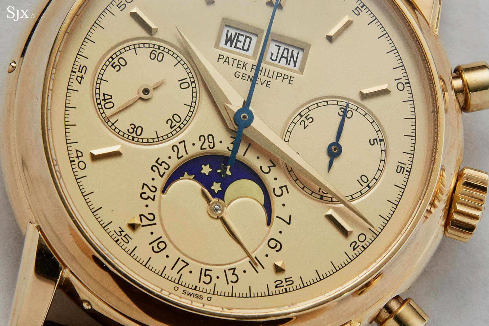 Patek Philippe 2499 champagne dial fourth series 1