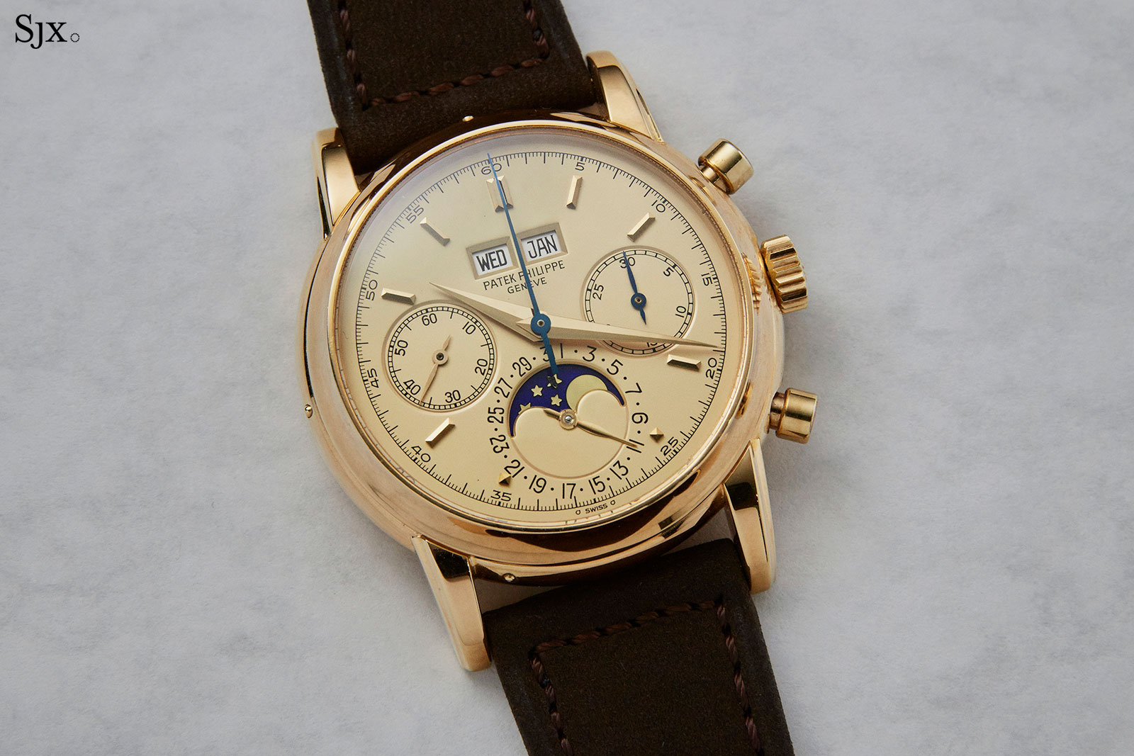 Patek Philippe 2499 champagne dial fourth series 2