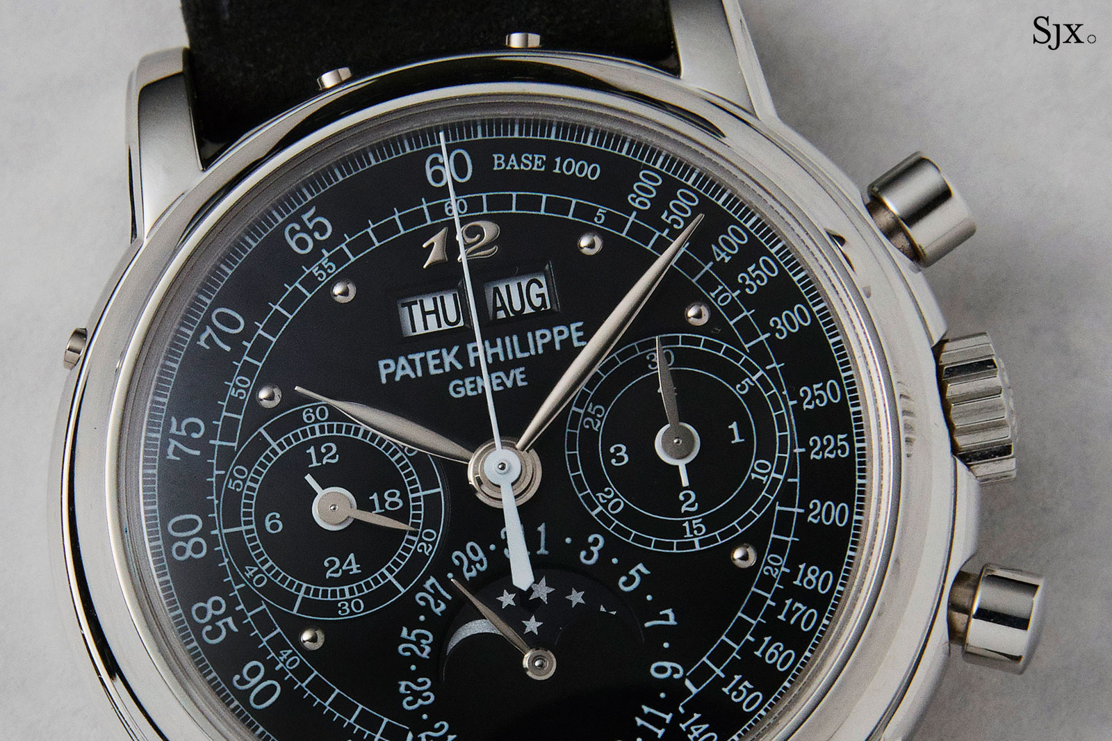 Patek Philippe 3970P unique dial Phillips 1