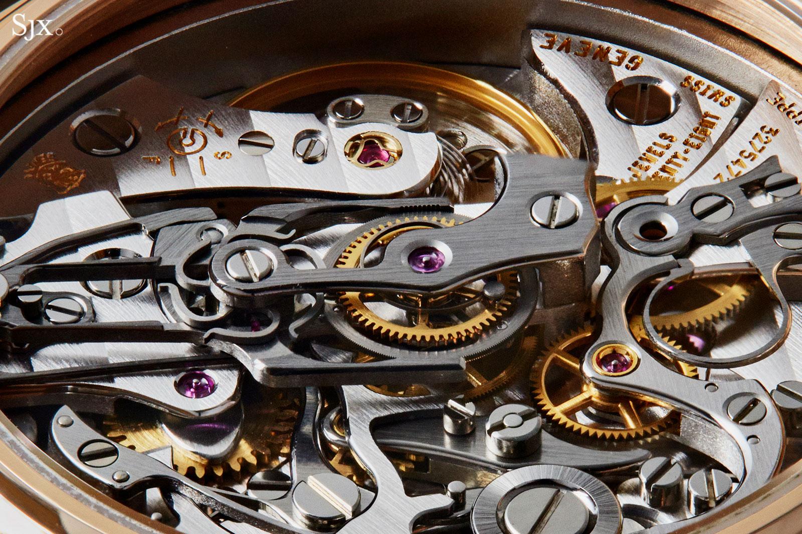 Patek Philippe 5004R Pulsations dial 5