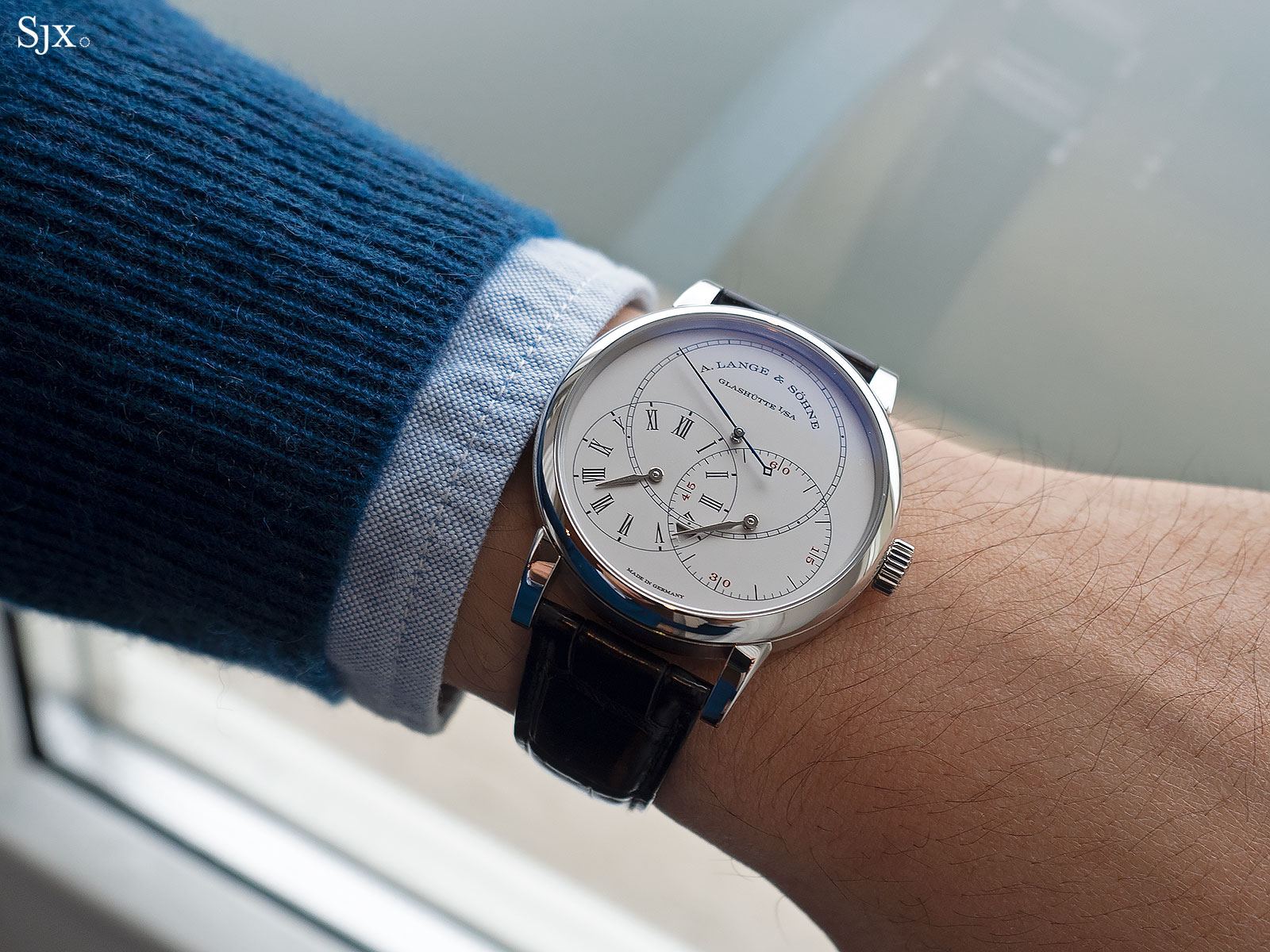 Richard Lange Jumping Seconds Watch review 2
