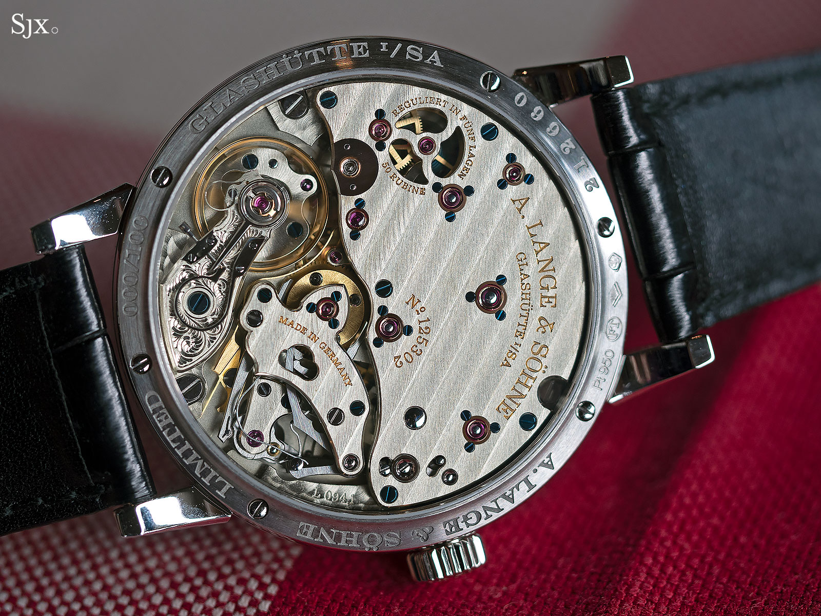 Richard Lange Jumping Seconds Watch review 4