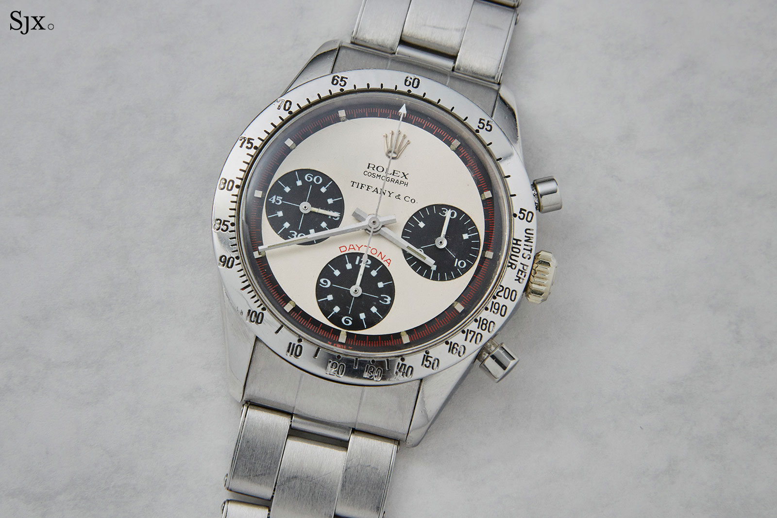 Rolex Daytona 6239 Paul Newman Tiffany dial 2