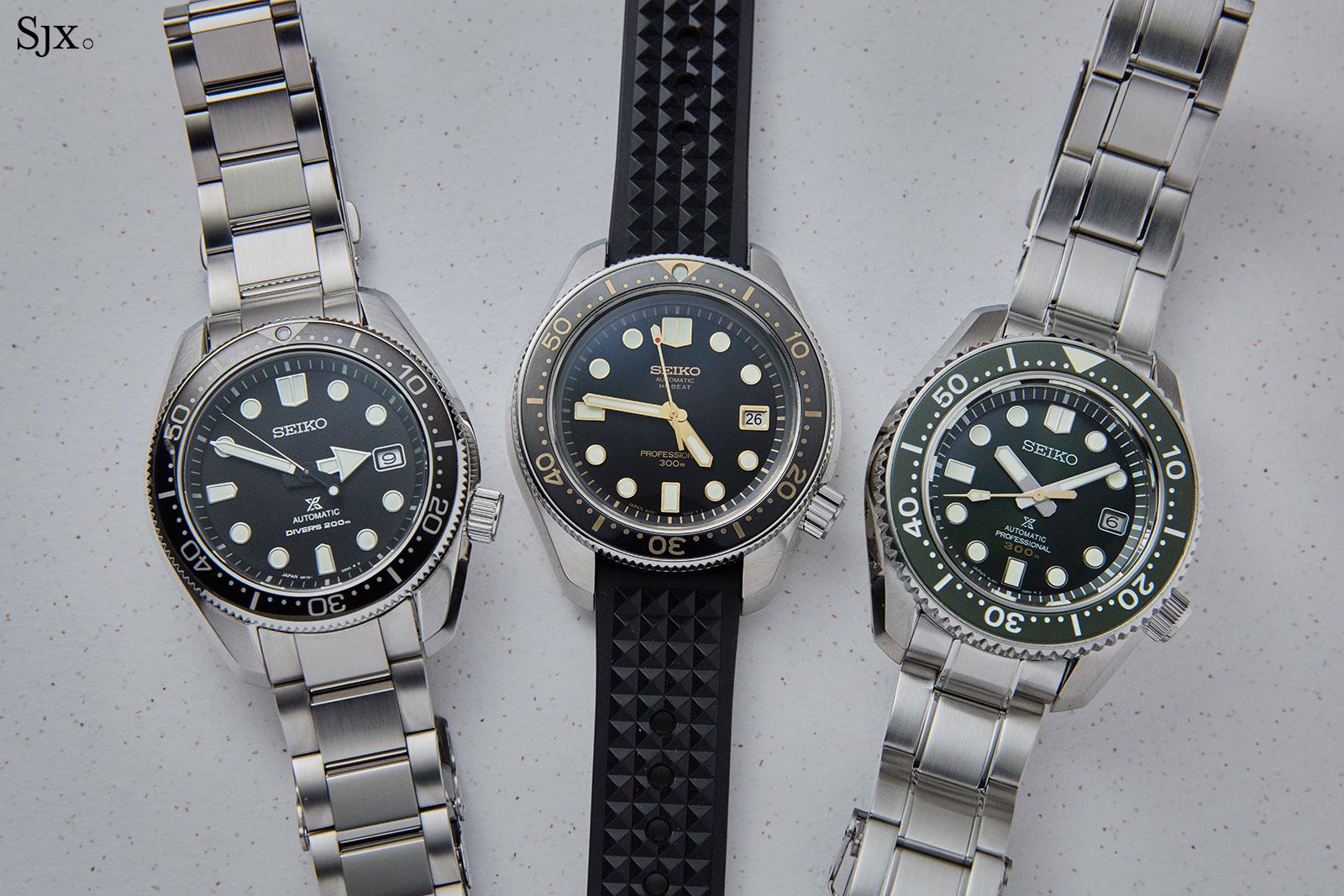 Seiko Prospex divers SLA025-SPB077-SLA019