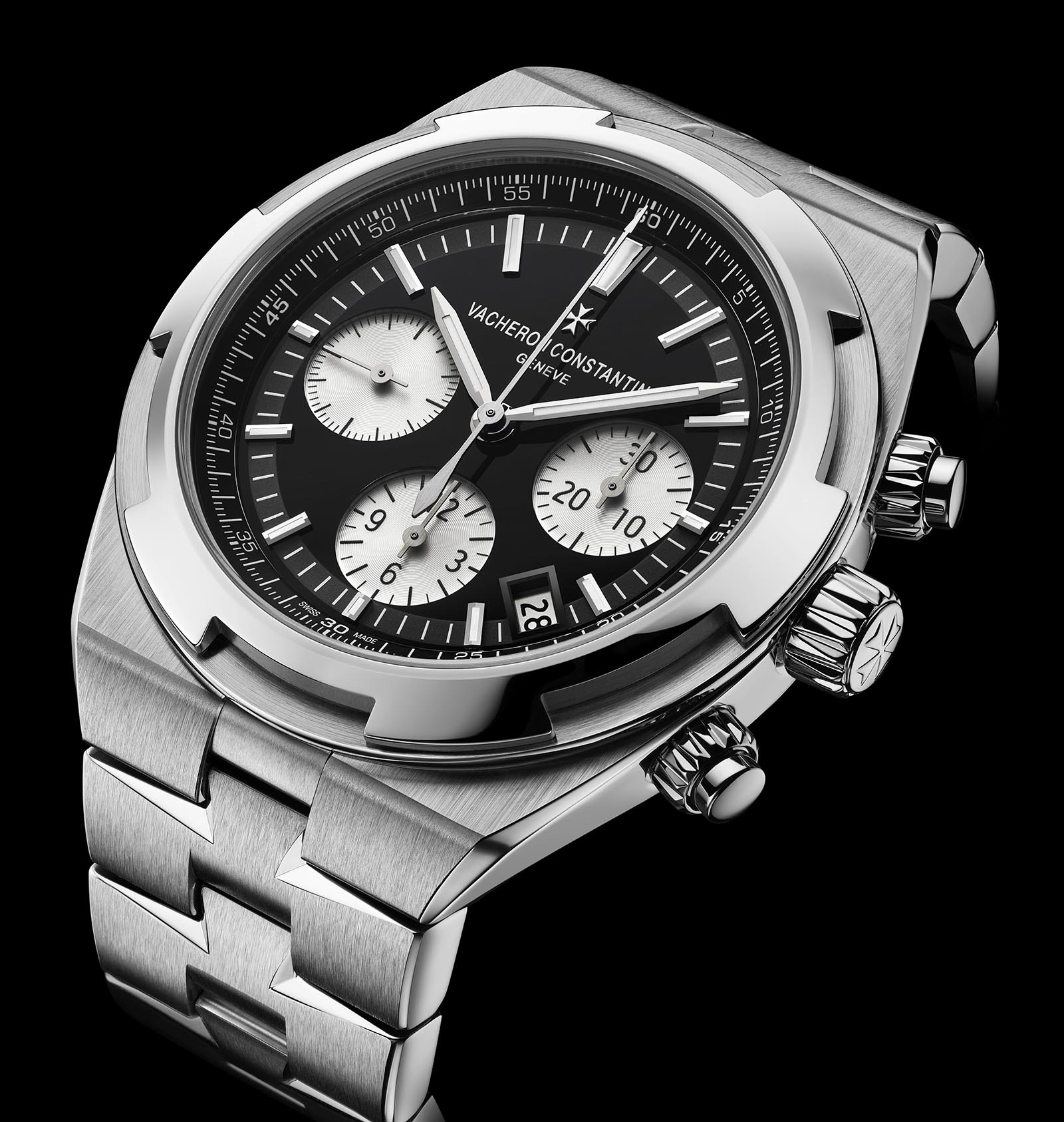 Vacheron Constantin Introduces the Overseas Automatic and Chronograph with Black Dials