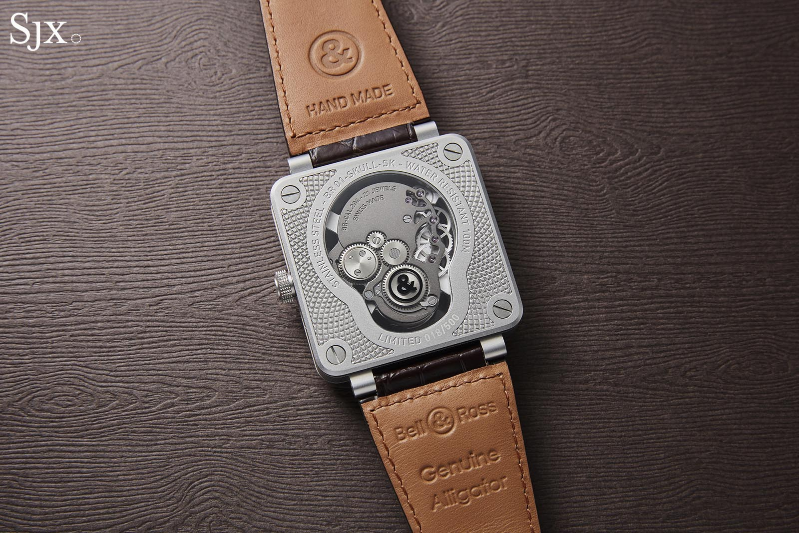 Bell & Ross BR 01 Laughing Skull 6