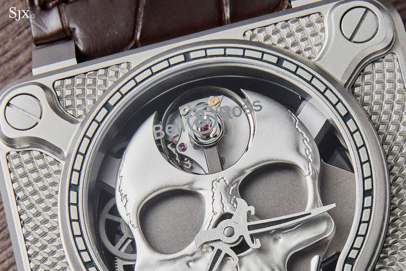 Bell Ross BR 01 Laughing Skull steel 2