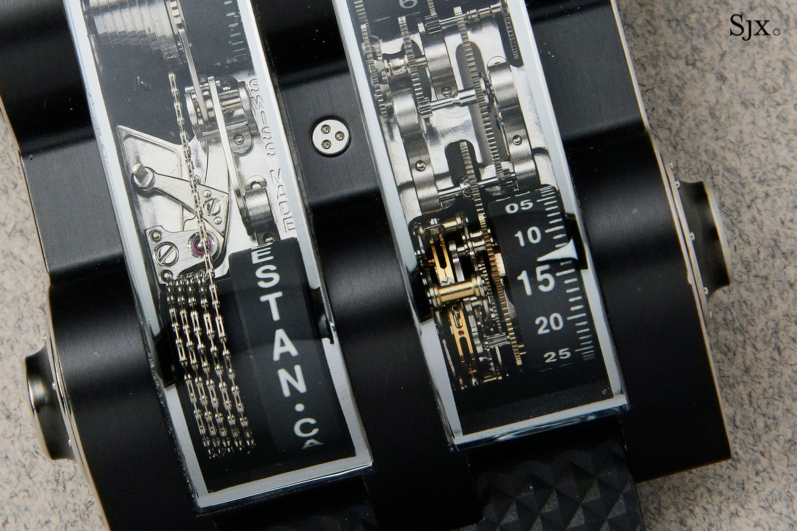 replica to exhibitors watches expect from cabestan ur and what new sihh urwerk