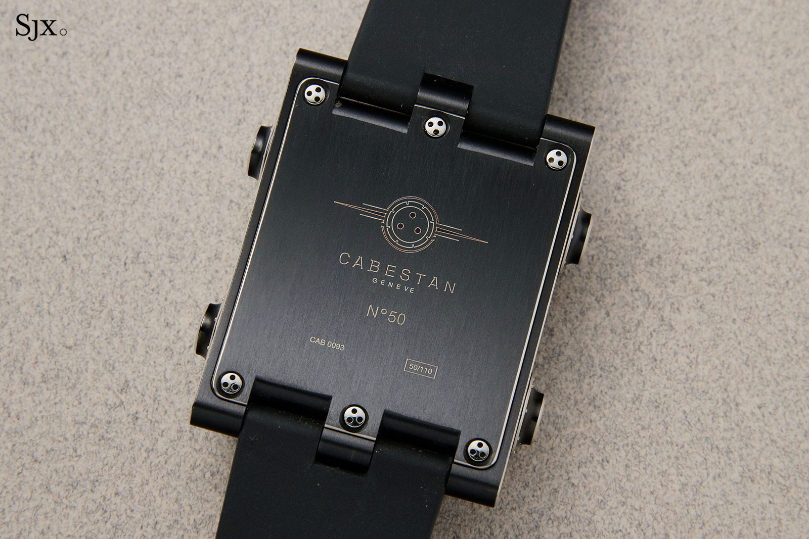 Cabestan vertical tourbillon Phillips 3