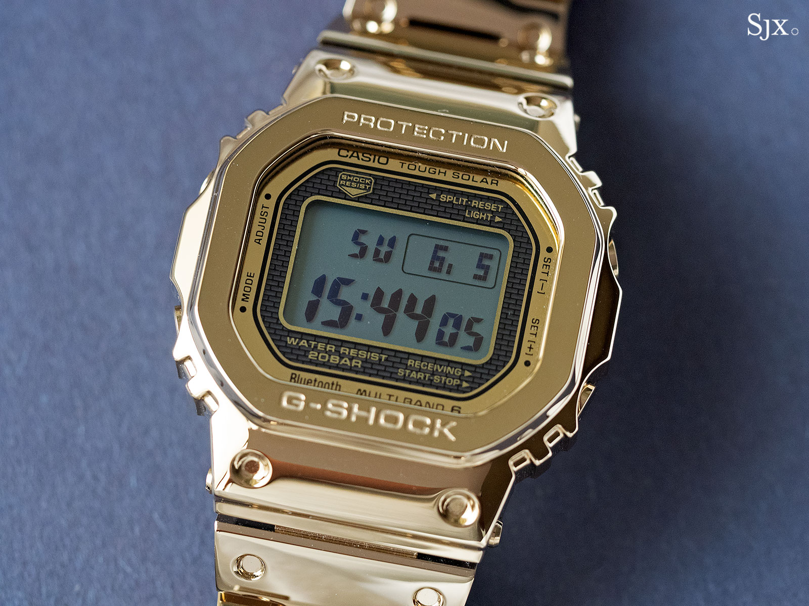G Shock Full Metal Gold 35th Anniversary 1