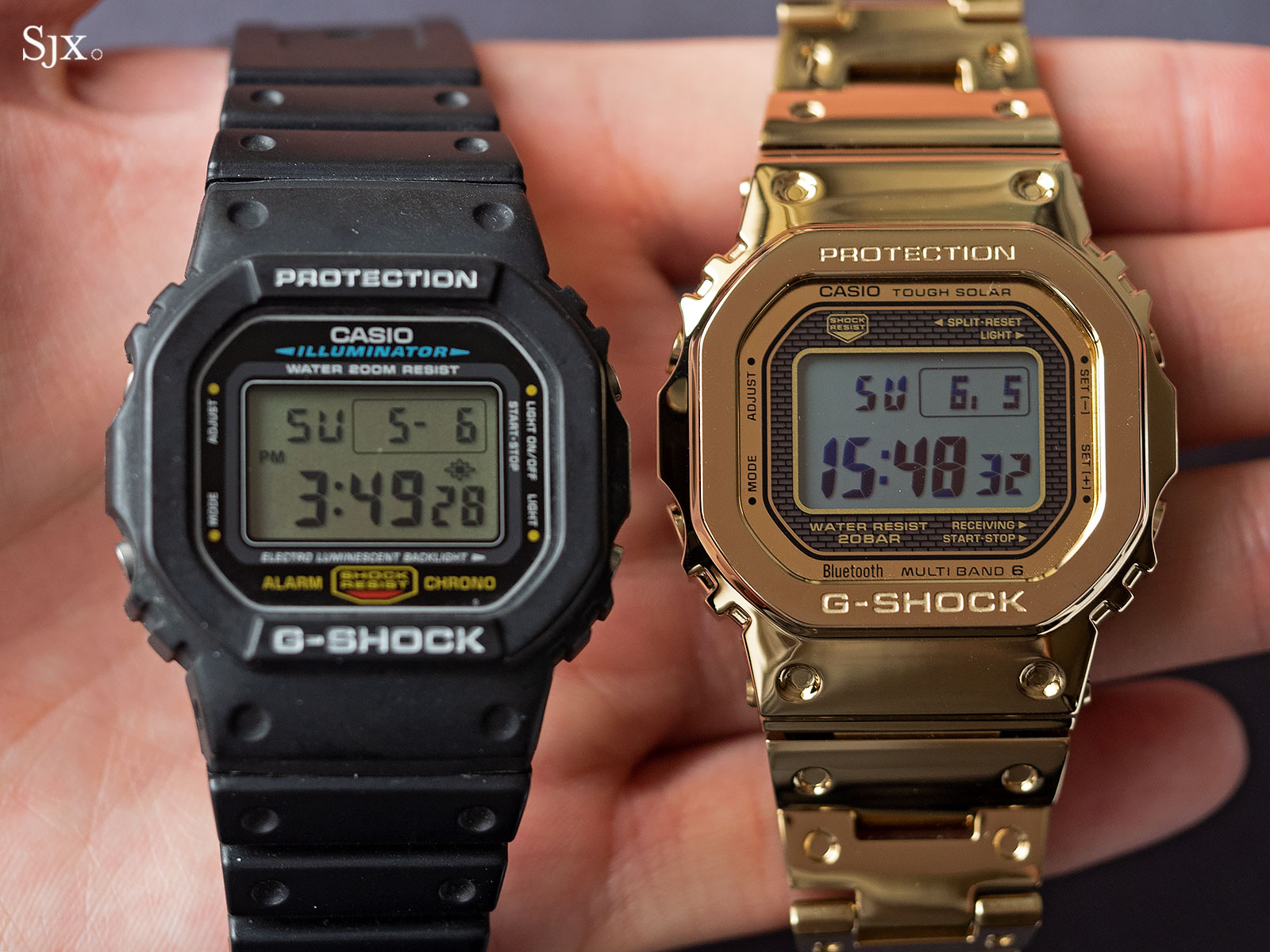 G Shock Full Metal Gold 35th Anniversary 13