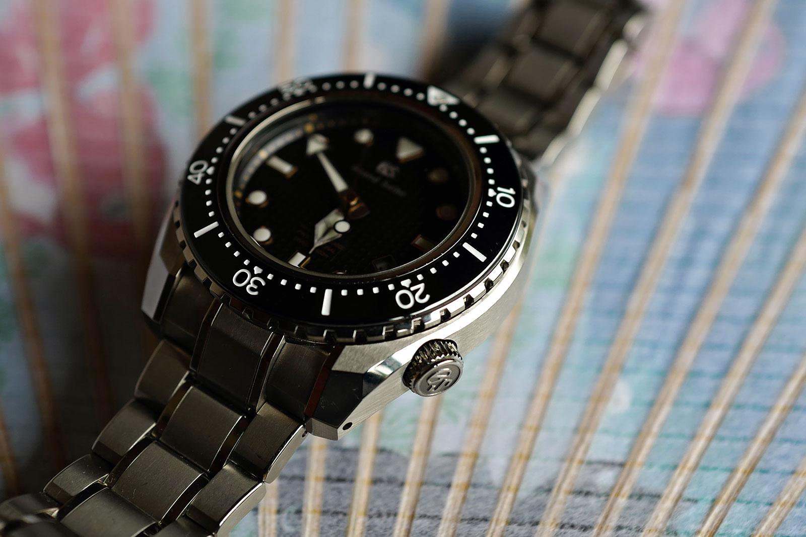 Grand Seiko Hi-Beat Diver SBGH255G review 11