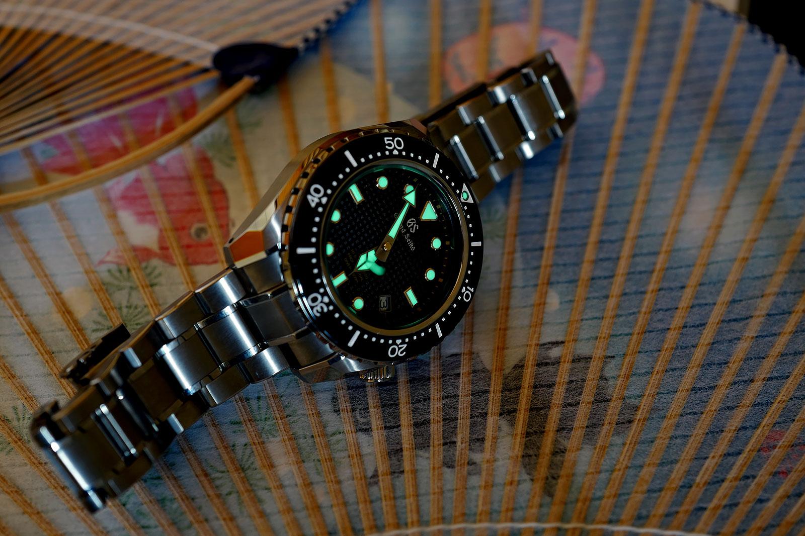 Grand Seiko Hi-Beat Diver SBGH255G review 12