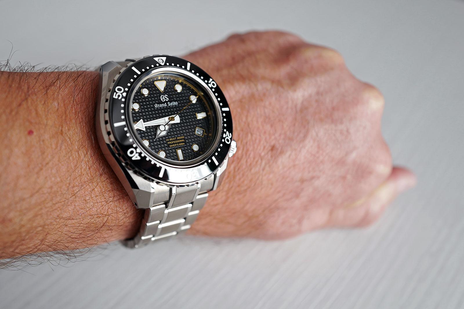 Grand Seiko Hi-Beat Diver SBGH255G review 6