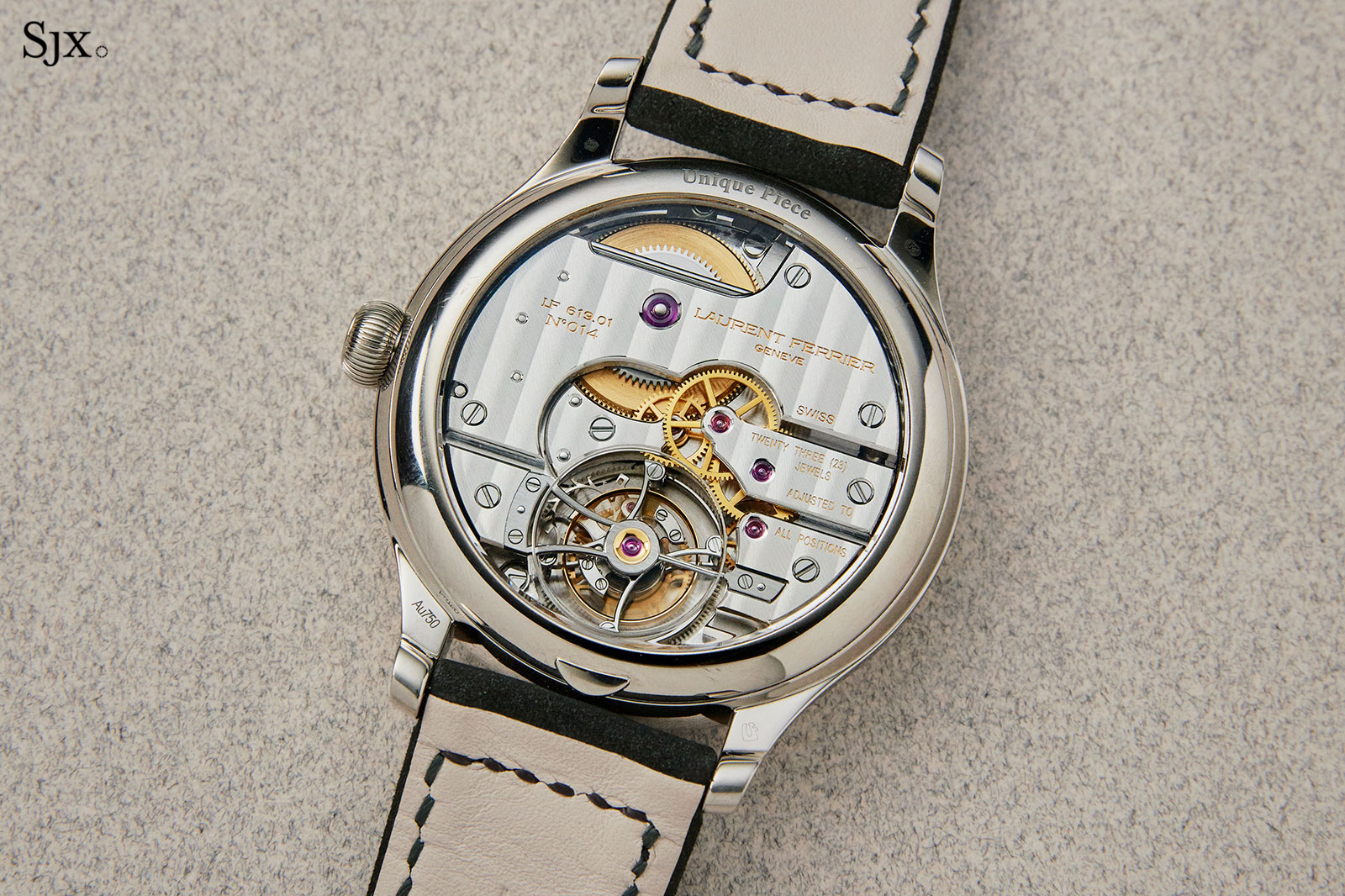 Laurent Ferrier Galet Tourbillon diamond dial 5