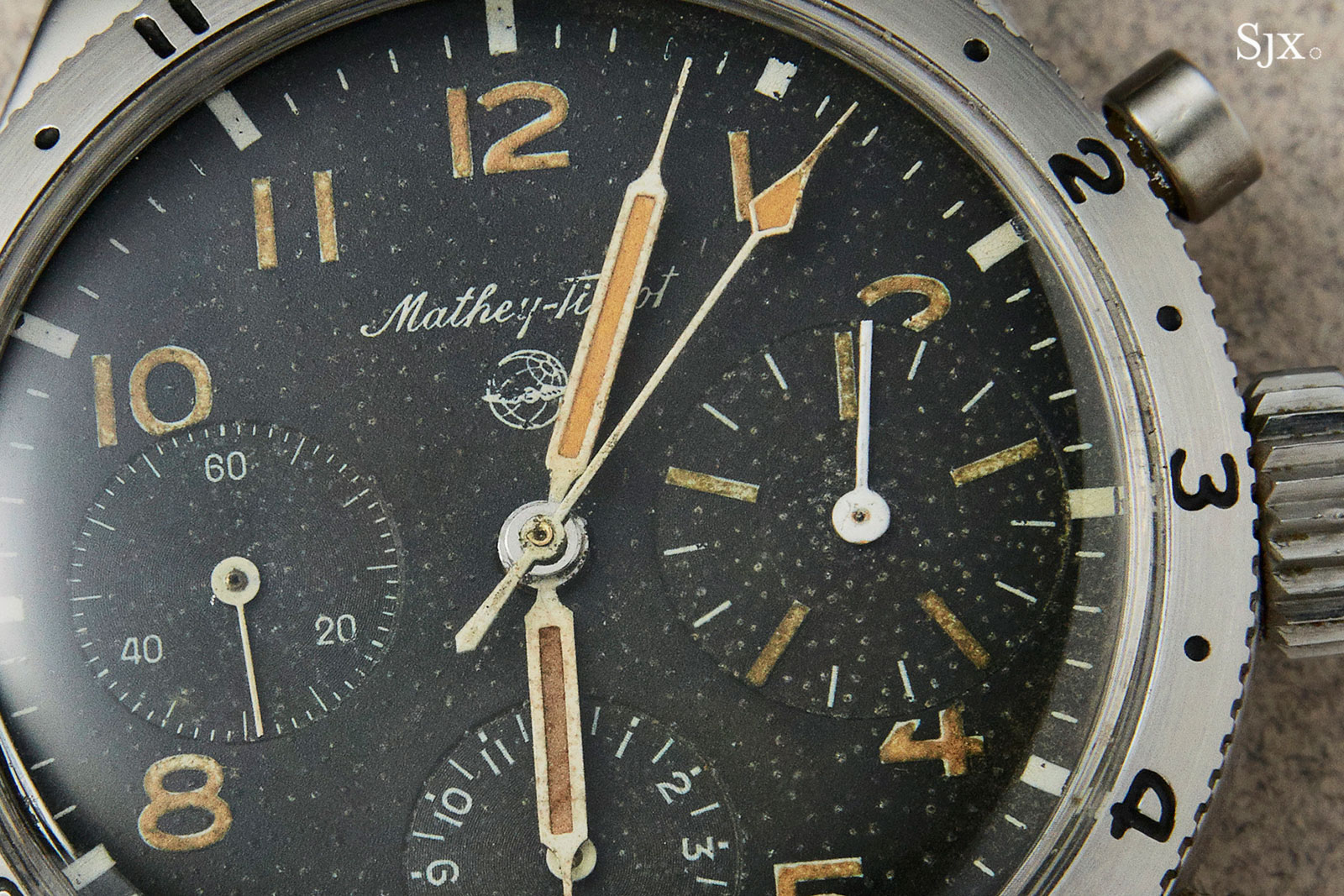 Mathey-Tissot Type XX chronograph 1